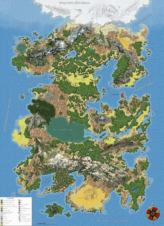 chart crazy-moon-language fantasy map nerd // 4000x5511 // 4.3MB