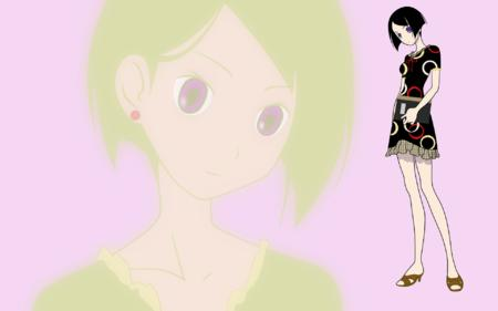 book brunette desktop dress high_res sandals sayonara_zetsubou_sensei vector // 1920x1200 // 452.7KB