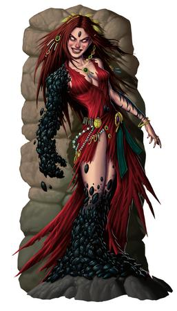 beetles dnd dress paizo pathfinder redhead scarab // 536x938 // 712.0KB