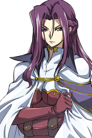 britannia cape code_geass cornelia gloves long_hair purple_hair // 600x900 // 147.5KB
