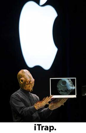 ackbar apple humor // 322x500 // 95.5KB
