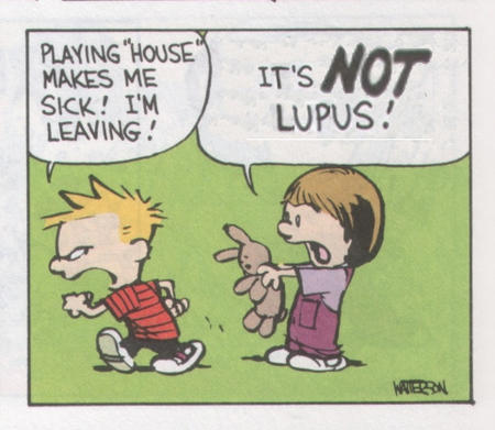 calvin comic house_md humor lupus suzy // 481x418 // 95.1KB