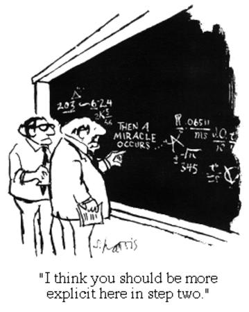 blackboard bw humor mircale science // 275x345 // 38.4KB
