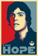 hope luke_skywalker political poster rebel_alliance star_wars // 450x661 // 103.0KB