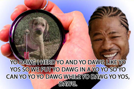 dog humor macro xzibit yo-yo // 800x532 // 147.4KB