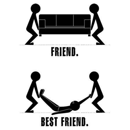 bodies bw friends humor sofa // 500x500 // 70.0KB