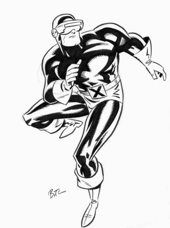 boots bruce_timm bw cyclops gloves marvel x-men // 501x671 // 53.7KB