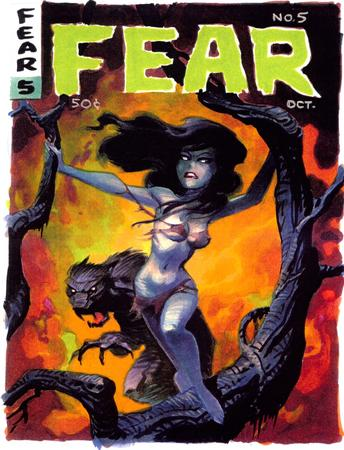 bruce_timm brunette cover fear ripped_clothes // 700x916 // 582.8KB