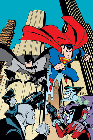 batman boots bruce_timm cape dc gloves harley_quinn joker lex_luthor superman // 518x780 // 188.6KB