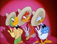 disney donald_duck duck hat jose_carioca panchito_pistoles parrot rooster screenshot three_caballeros // 720x560 // 75.5KB