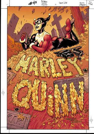 cemetary cover dc gloves harley_quinn mask terry_dodson // 405x576 // 126.0KB