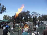 2009 fire maker_faire sculpture // 3072x2304 // 1.6MB