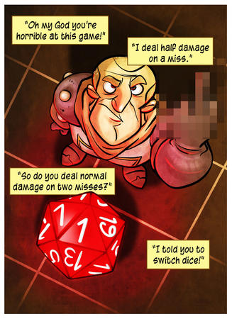 cleric comic dice dnd fumble humor penny_arcade // 800x1101 // 198.8KB