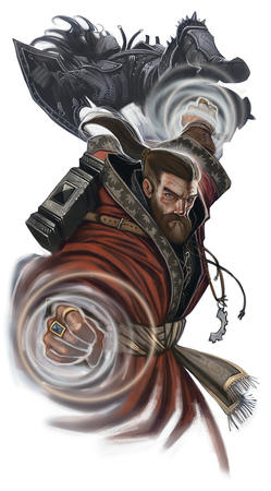 beard blue_eyes dnd hammer ponytail robe // 640x1156 // 246.4KB