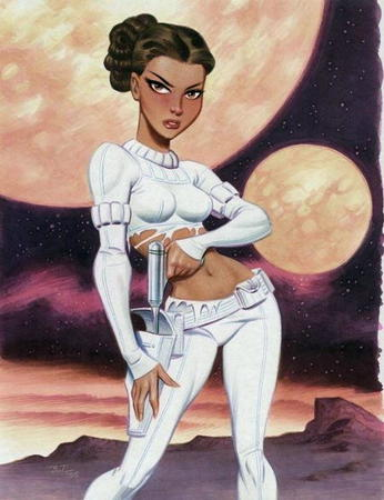 brown_eyes bruce_timm brunette moon raygun ripped_clothes sci_fi // 449x584 // 49.5KB