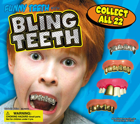 bling-teeth grill humor kids toy wtf // 450x400 // 69.0KB