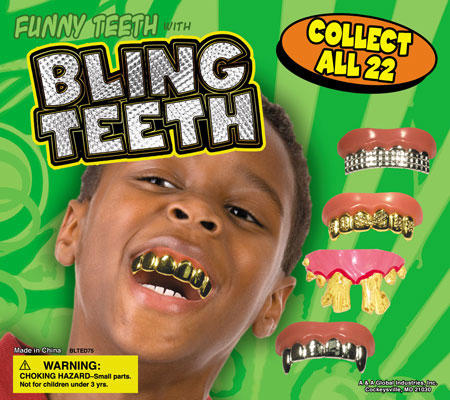 bling-teeth grill humor kids toy wtf // 450x400 // 66.9KB