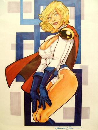amanda_conner blonde blue_eyes boots cape dc gloves oppai power_girl // 600x799 // 66.4KB