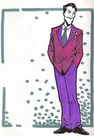 amanda_conner dc joker necktie sketch suit // 550x800 // 294.2KB