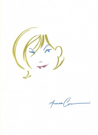 amanda_conner blonde blue_eyes dc power_girl sketch wink // 581x800 // 153.8KB