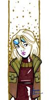 amanda_conner blonde dc goggles jacket sketch terra // 320x648 // 39.0KB