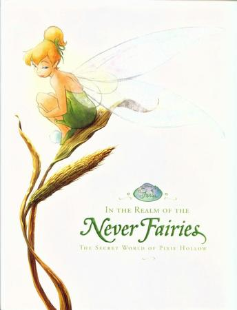 blonde blue_eyes cover disney dress fairy ponytail tinkerbell wings // 960x1256 // 142.4KB