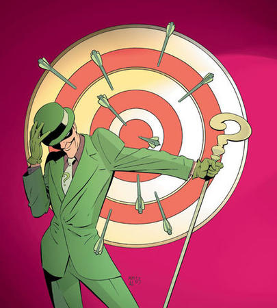 cane dc gloves hat mask necktie riddler suit // 430x478 // 81.9KB