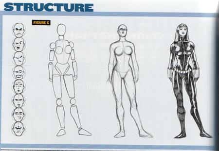 black_widow bw composite how-to-draw jumpsuit marvel sketch // 800x552 // 68.1KB