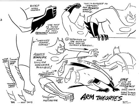 arm batman bruce_timm bw composite dc how-to-draw // 1581x1197 // 381.7KB