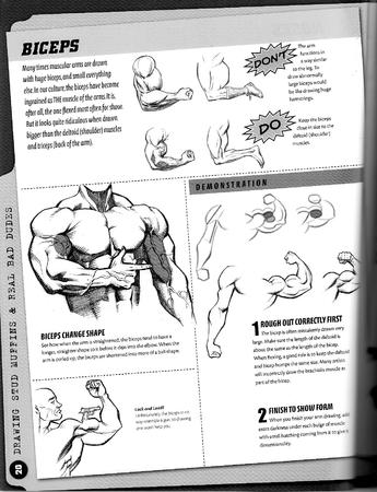 arm bw composite how-to-draw male // 1276x1662 // 456.3KB