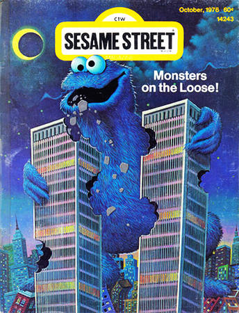 911 cookie_monster cover humor im_going_to_hell sesame_street wtc // 375x491 // 276.5KB