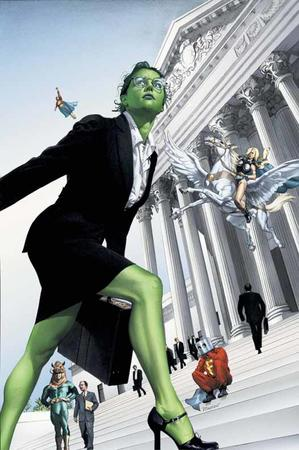 briefcase glasses marvel she-hulk skirt suit // 526x792 // 63.2KB
