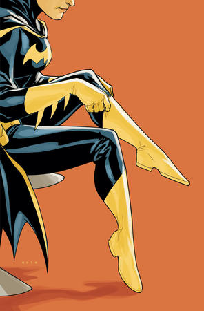 batgirl boots cape cover dc gloves // 900x1367 // 122.0KB