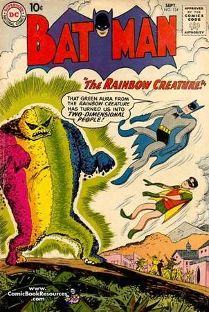 batman comic cover dc humor rainbow robin // 420x626 // 53.8KB
