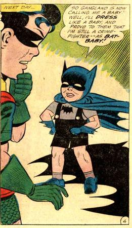 bat-baby batman comic dc humor robin toddler // 606x1044 // 201.9KB