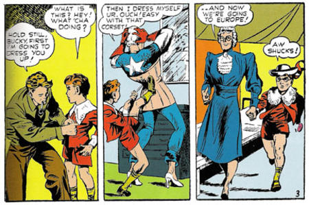 bucky captain_america comic corset cross-dressing humor marvel // 432x287 // 105.9KB