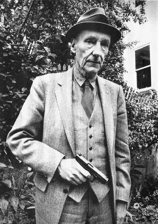 bw gun hat necktie suit vest william_burroughs // 400x564 // 41.8KB