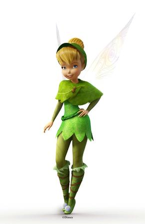 blonde blue_eyes boots cg disney fairy hat screenshot shawl tinkerbell wings // 1200x1854 // 187.6KB
