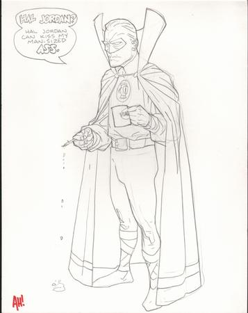 adam_hughes cape cigarette coffee green_lantern humor insult sketch // 635x800 // 273.0KB