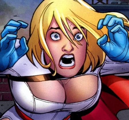 amanda_conner blonde blue_eyes cape cleavage dc gloves oppai power_girl reaction // 479x446 // 92.0KB