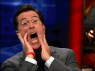 animated colbert scream // 250x187 // 1.1MB