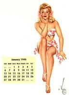 bare_shoulders blonde calendar pinup sandals sarong // 598x820 // 62.1KB