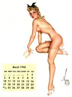 bare_shoulder blonde calendar high_heels pinup // 596x802 // 50.8KB