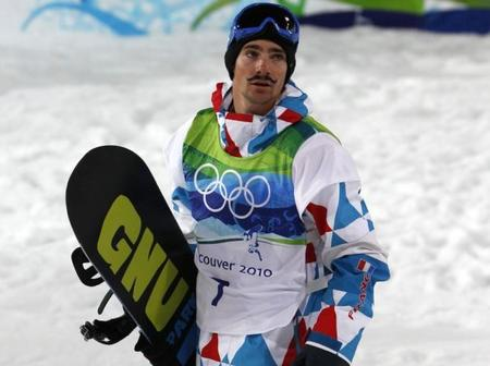 canada france goggles humor mathieu_crepel musache mustache olympics snow snowboard vancouver // 605x452 // 39.9KB