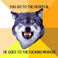 courage_wolf hospital macro morgue wolf // 400x400 // 45.2KB