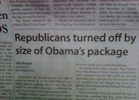 america bw democrat headline humor newspaper obama package political republican // 500x358 // 34.8KB