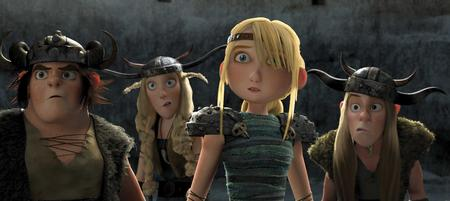 astrid cg helmet how_to_train_your_dragon reaction ruffnut screenshot snotlout tuffnut viking // 3218x1438 // 233.5KB