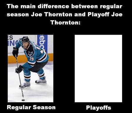 hockey home_jersey humor joe_thornton playoffs san_jose sharks // 666x568 // 42.5KB
