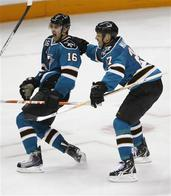 devin_setoguchi hockey home_jersey manny_malhotra san_jose sharks you_mad // 447x512 // 46.7KB