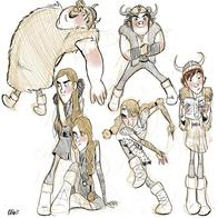 astrid book composite fishlegs hiccup how_to_train_your_dragon ruffnut sketch viking // 5000x5000 // 1.9MB